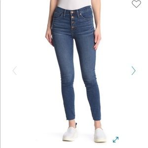 Madewell Button Fly High waisted jeans